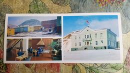 Russia Vs Norway. Spitzbergen. Barentsburg. Hotel. PLAYING CHESS. Long Format. 1978 - Echecs