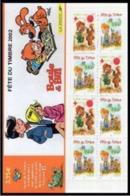 Année 2002 - N° 3467a - T-P N° 3467a X 5 + 3468 X 3 - Boule Et Bill De Jean Roba - Journée Du Timbre