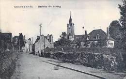 15 - CHAUSSENAC : Entrée Du Bourg - CPA - Cantal - France