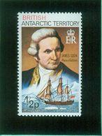 British Antarctic Territory - Antartique Britannique 1978 Yvert 71, RESOLUTION, James Cook - British Antarctic Territory  (BAT)