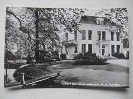 M33 Ansichtkaart Haren (Gr) - Kinderziekenhuis W.A. Scholten - Haren