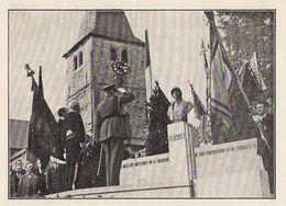 Belgique WATERMAEL Inauguration Du Monument Au Roi Albert 1938 - Old Paper