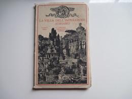 Dépliant 24 Vues ITALIENNE ROME LA VILLA DELL'IMPERATORE ADRIANO  19.. T.B.E. Pochette Abimée - Tourism Brochures