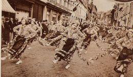 Belgique GRAMMONT La Danse Des Rustvrienden Van Moorsel 1938 - Old Paper