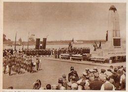 Belgique ANVERS Escadrille De Contre-torpilleurs Français Au Monument Aux Gens De Mer 1939 - Old Paper