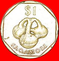√ BOTTLE SAQAMOLI: FIJI ★ 1 DOLLAR 1995! LOW START ★ NO RESERVE! - Fiji