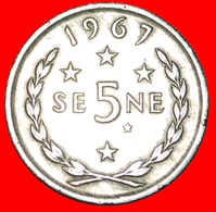 √ GREAT BRITAIN: WESTERN SAMOA ★ 5 SENE 1967! LOW START ★ NO RESERVE! - Samoa