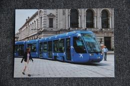 TRAMWAY à MONTPELLIER  Par Elisabeth GAROUSTE Et Mattia BONETTI, Créateurs.Format CPA - Tramways