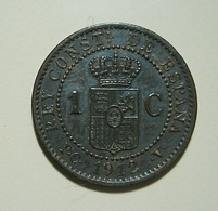 Spain 1 Centimo 1912 - [ 1] …-1931 : Kingdom
