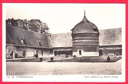 CPÄ6 76 -VARENGEVILLE - Cour Du MANOIR D'ANGO- * SUP**2 SCANS. - Varengeville Sur Mer