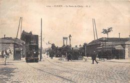 Clichy Tramway Porte De Clichy - Clichy