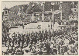 SAINTE ADRESSE LE HAVRE Inauguration Du Monument Au Roi Albert 1938 - Old Paper