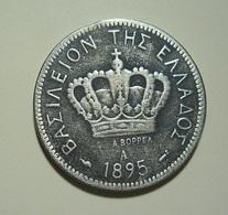 Greece 20 Lepta 1895 A - Greece