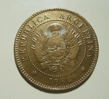 Argentina 1 Centavo 1884 - Argentina