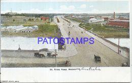 87729 AUSTRALIA MELBOURNE STREET KILDA ROAD POSTAL POSTCARD - Australia