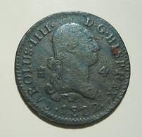 Spain 4 Maravedis 1802 - [ 1] …-1931 : Kingdom