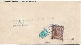 NICARAGUA 1949 Cover Posted 2 Stamps USED - Nicaragua
