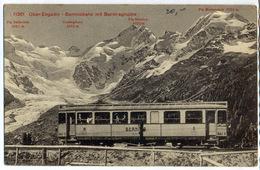 Suisse - Automotrice Du Réseau Bernina - Materiale