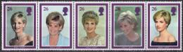 ROYAUME UNI - Hommage à Diana, Princesse De Galles - 1952-.... (Elizabeth II)