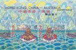Hong Kong 2001 Joint Issue Hong Kong China Australia   Miniature Sheet MNH - Mint Stamps