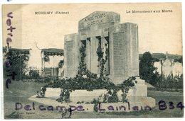 - 237 - MESSIMY - Rhône ), Monument Aux Morts, Peu Courante, écrite En 1932, BE, Scans. - Altri Comuni