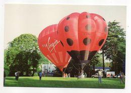 "Montgolfière  VIRGIN  (animée)--""Balloons Over Basingstocke"" At Down Grange 27-29 May 1989 - Montgolfières"