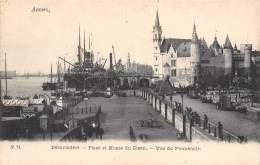 ANVERS - Débarcadère - Place Et Musée Du Steen - Vue Du Promenoir - Antwerpen