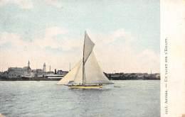 ANVERS - Un Yacht Sur L'Escaut - Antwerpen