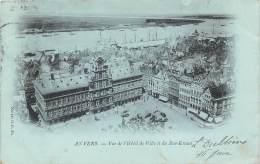 ANVERS - Vue De L'Hôtel De Ville Et Du Bas-Escaut - Antwerpen