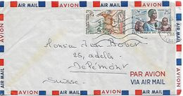 SENEGAL 1961 Cover, Posted 2 Stamps COVER USED - Senegal (1960-...)