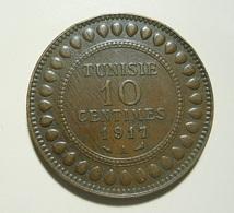 Tunisia 10 Centimes 1917 A - Tunisia