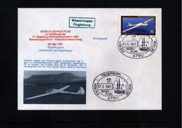 Deutschland / Germany 1981 Paderborn Segelflugpost - [7] West-Duitsland