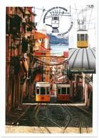 Portugal Maximum - Elevador Da Bica - Lifter Elevator - Lisboa 2010 - FD Postmark - Tram
