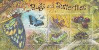 Australia 2003 Bugs And Butterflies   Miniature Sheet MNH - Mint Stamps