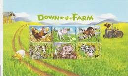 Australia 2005 Down On The Farm  Miniature Sheet MNH - Mint Stamps