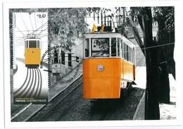 Portugal Maximum - Elevador Da Glória - Lifter Elevator - Lisboa 2010 - FD Postmark - Tram