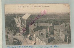 ROCHEFORT Sur Mer  Rue Toufaire , Bourse Cachets à Date ROCHEFORT - PARIS  EQUIPAGE DE LA FLOTTE  FEVR 2018 505 - Marcofilie (Brieven)