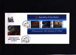 San Marino 1993 Michel Block 16 FDC - San Marino