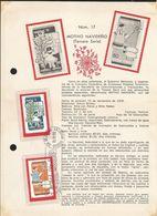L) 1979 MEXICO, CHRISTMAS, CHILD PASTOR, GIRL WITH RAMA, SHEEP, STAR, FDB - Mexico
