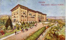 Fiuggi - Frosinone - Palazzo Della Fonte - Stabilimento Acqua Fiuggi - Formato Piccolo Viaggiata – At - Frosinone