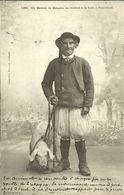 MAHALON  -- Un éleveur De M. Se Rendant à La Foire PONT-CROIX                                         --  Villard 1268 - France