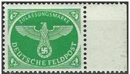 ALEMANIA DEUTCHES REICH 1944 Mi:DR FP4, Sn:DE MQ2, Yt:DR FM3, AFA:DR FP5 ** MNH - Ongebruikt