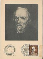 SPAIN 1954 Maximum Card Juan De Alfaro UNUSED - Maximum Kaarten