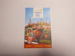 Ticket D'entrée Parc D'atraction Port Aventura Espagne - Tickets - Vouchers