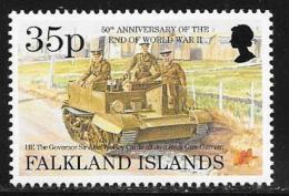 Falkland Islands, Scott # 635 MNH End Of WW2 Anniv., 1995 - Falkland Islands