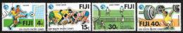 Fiji Islands, Scott # 401-4 Used Various Subjects, 1979 - Fiji (1970-...)