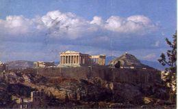 Athens - The Acropolis - Formato Piccolo Viaggiata – At - Grecia