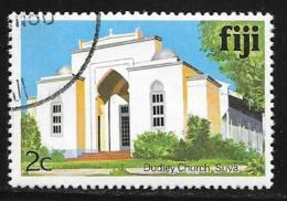 Fiji Islands, Scott # 410 Used Dudley Church, 1979 - Fiji (1970-...)