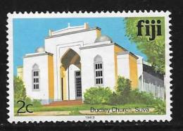 Fiji Islands, Scott # 410b Unused No Gum Dudley Church, 1983 - Fiji (1970-...)