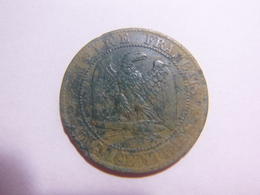 5 Centimes 1854 MA Napoléon III Tête Nu - France